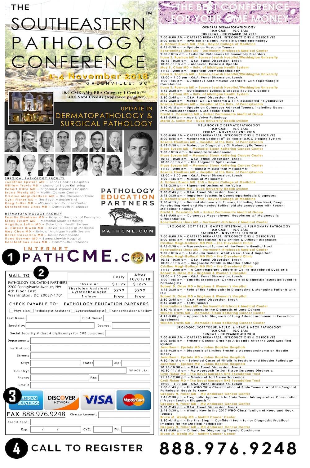 Pathology Outlines - Conferences / Webinars as of November 1