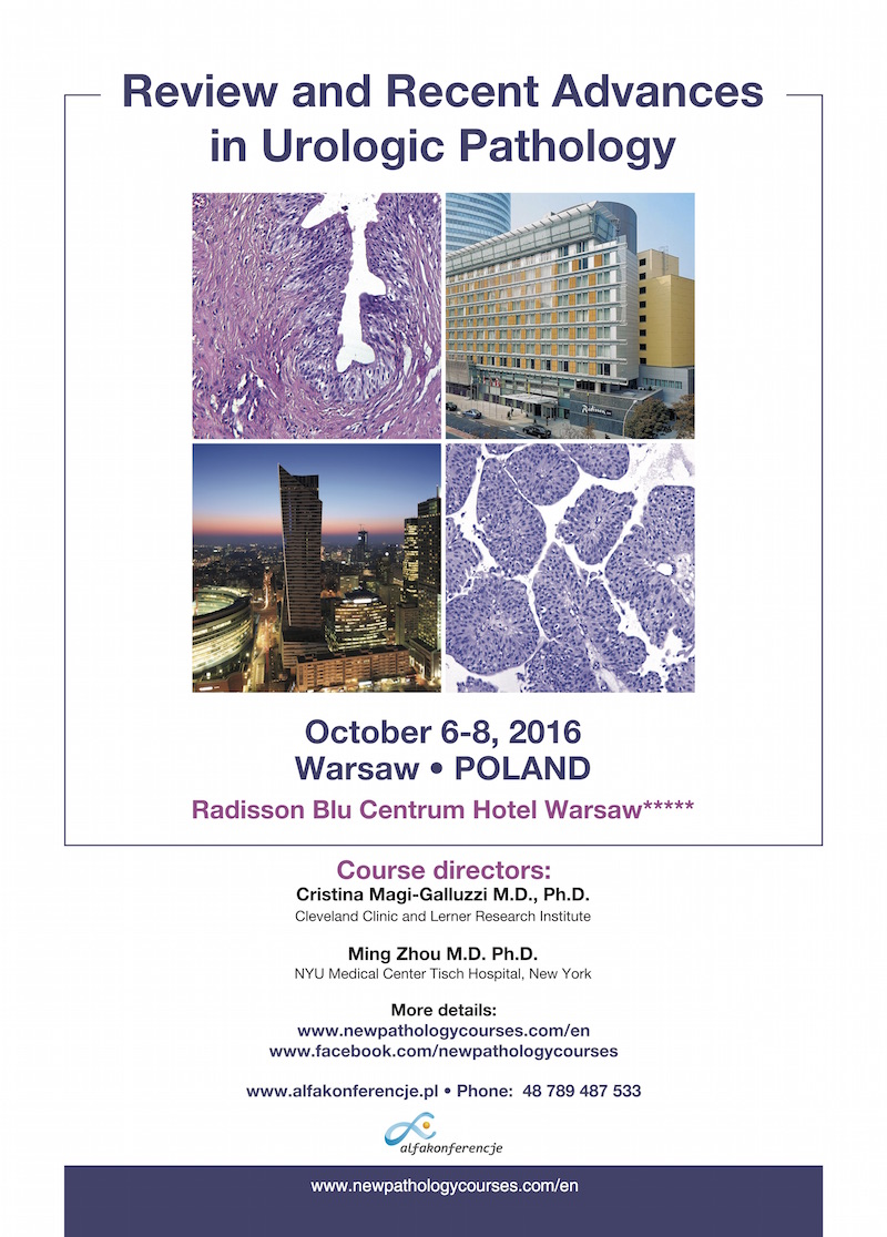 Pathology Outlines - Conferences as of October 1, 2016