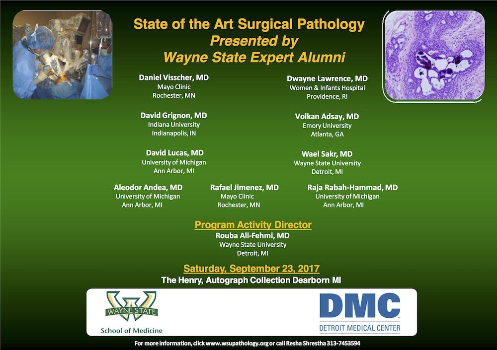 Pathology Outlines - Conferences / Webinars as of August 2, 2017